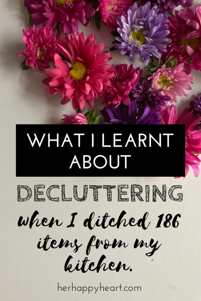 #Ditch500: My First Decluttering Update! | At the beginning of the year, I committed to get rid of 500 items from our home. 186 items in, I have already picked up some valuable lessons. Thinking about decluttering? Read my post first!