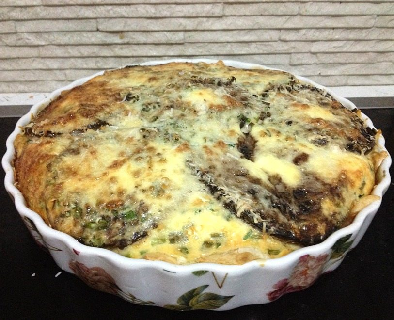 Whole Mushroom Quiche