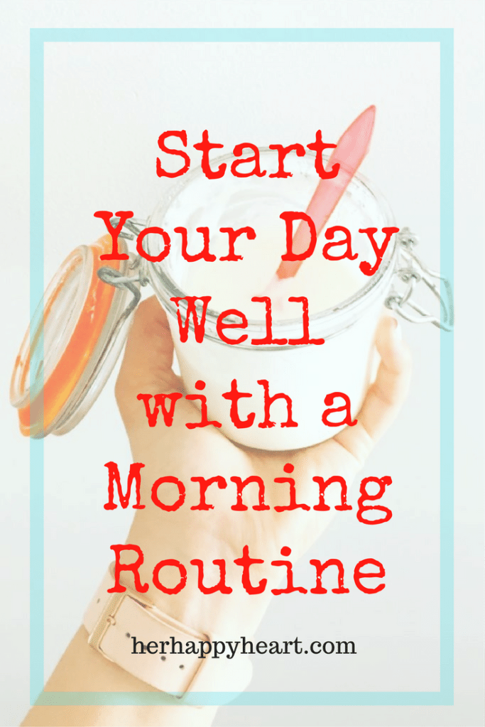 Start Your Day Well with a Morning Routine | Are you trying to implement new healthy habits? A morning routine may be the key to your success!