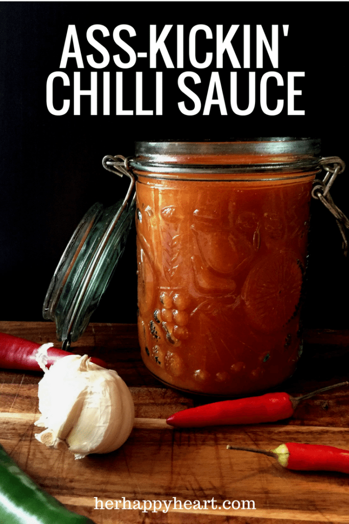 Ass-Kickin' Chilli Sauce Recipe | Can you stand the heat?!