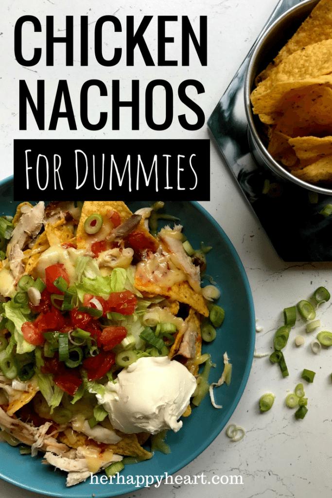 10-Minute Chicken Nachos | A foolproof, super quick, super easy chicken nachos recipe