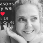 5 Reasons why we love Heidi Anderson
