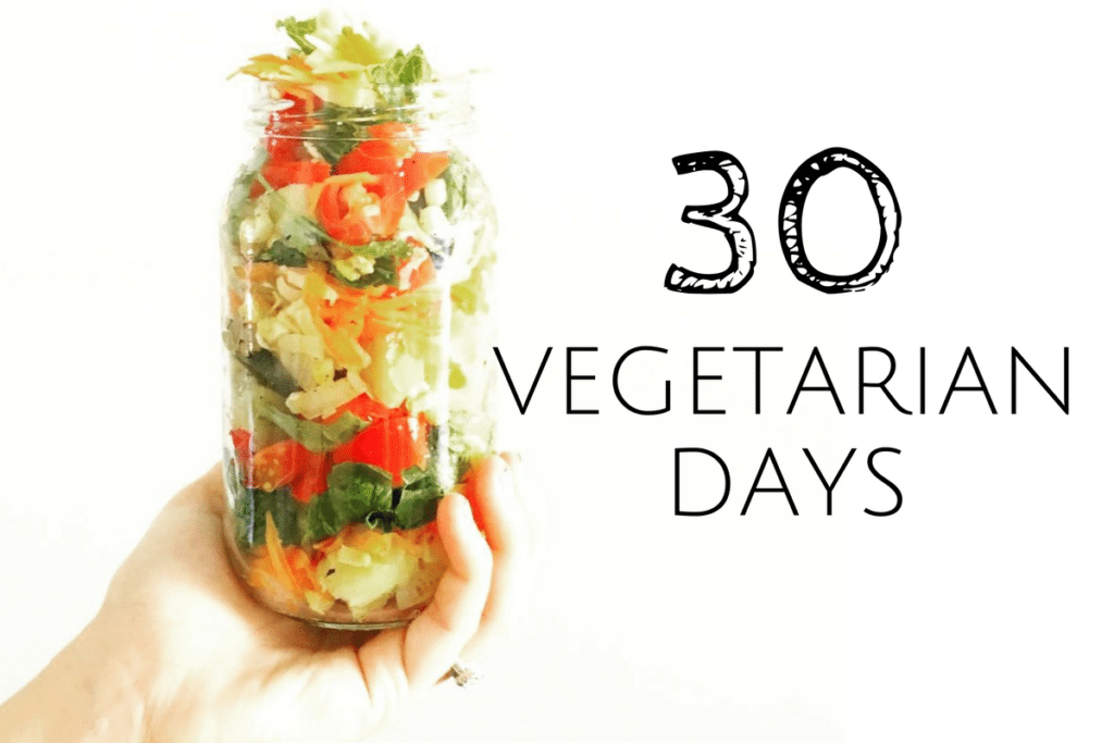 30 Vegetarian Days: What Happened When I Went Meat-Free
