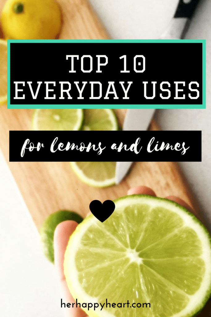 What To Do When You Have Too Many Lemons & Limes | Citrus coming out the wazoo? Here's our top 10 favourite ways of using lemon and lime - with recipes, health remedies, storage ideas and more!