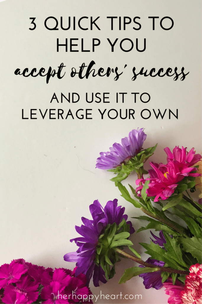 How to Accept Other's Success in Three Easy Steps | Seeing other people achieve what you want to, but haven't, can really bring you down and make you jealous. We have three quick tips to remember when jealousy of success rears its head - check out our post to learn more!