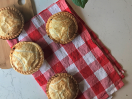 Slow Cooked Chilli Beef and Cheese Lunch Pies Recipe