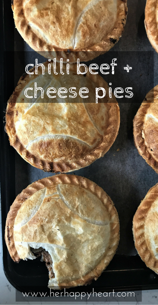 Slow Cooked Chilli Beef and Cheese Pie Recipe | Tender beef, chilli and cheese pies | Slow cooker recipes | Pie recipes | Comfort food | Spicy food