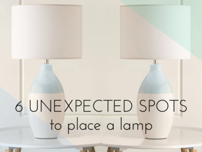 For the Love of Hygge: 6 Unexpected Spots to Place a Lamp in Your Home