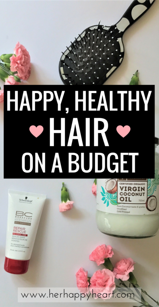 Easy, Budget-Friendly Hair Care Tips for Healthy, Happy Hair | How to care for your hair on a budget | Quick Hair Tips | Low maintenance hair care