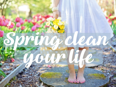 The September Challenge: Spring Clean Your Life!