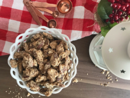 Easy Christmas Candied Pecans (The Perfect Holiday Snack)
