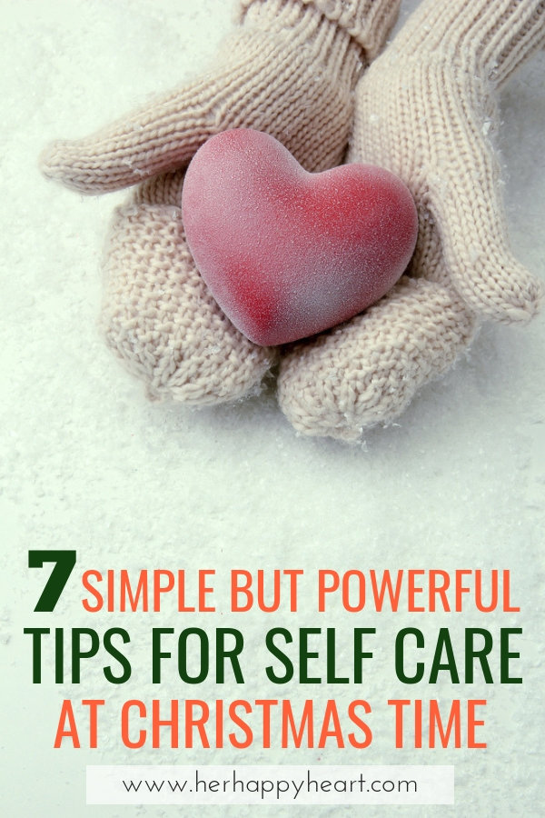 self care ideas and tips at Christmas | How to take care of yourself at Christmas and during the holidays | #christmas #selfcare #christmasideas #christmas2018