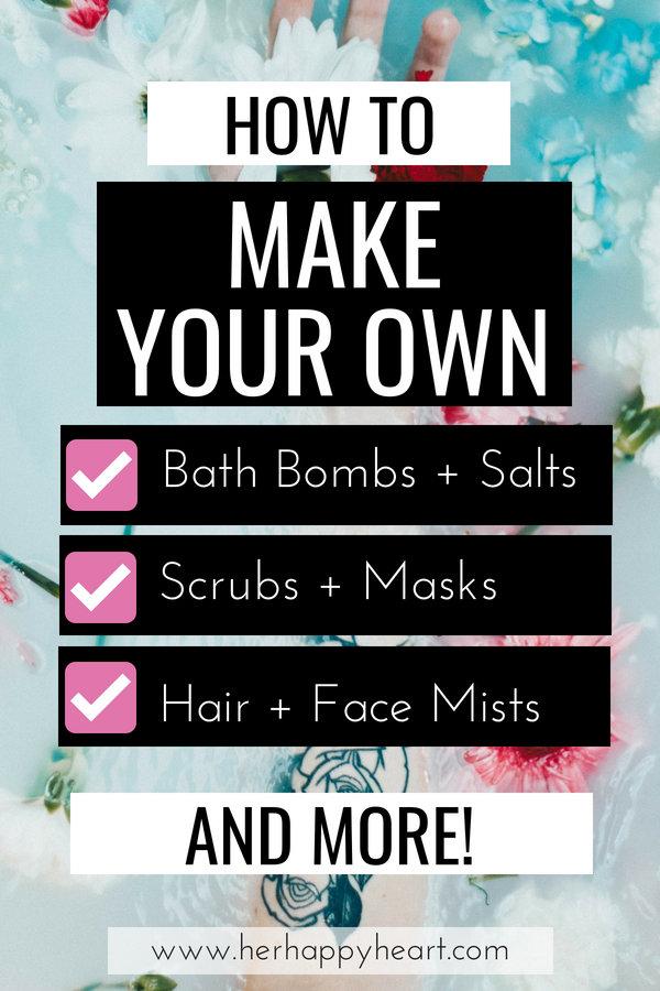 16 Dreamy Beauty DIYs That Are Perfect For Beginners | #beauty #diybeauty #diy | healthy hair tips | diy beauty products | diy homemade bath bombs | beauty diy recipes | beauty essential oils | essential oils DIY | diy scrubs masks mists soap lip scrub