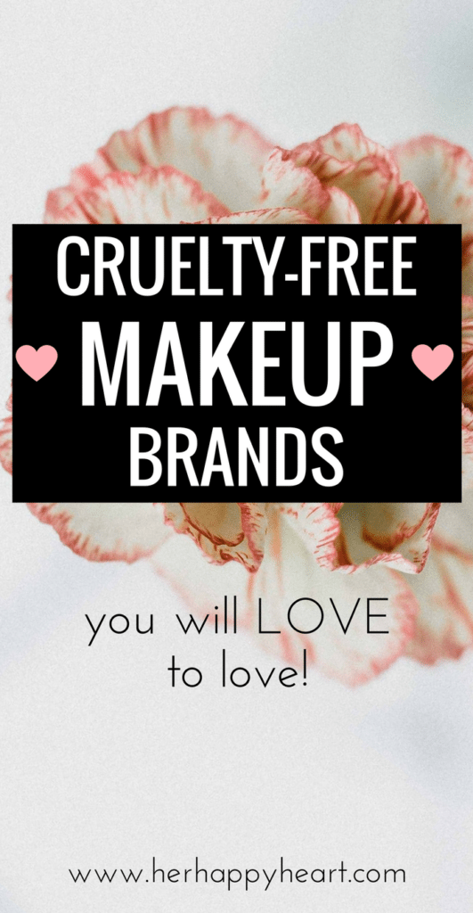 Cruelty Free Makeup Brands You'll Love Loving! | #beautybrands #crueltyfree #crueltyfreebeauty #makeup #ecofriendly | cruelty free makeup | cruelty free products | cruelty free skin care | cruelty free makeup brands | eco friendly | beautybrands