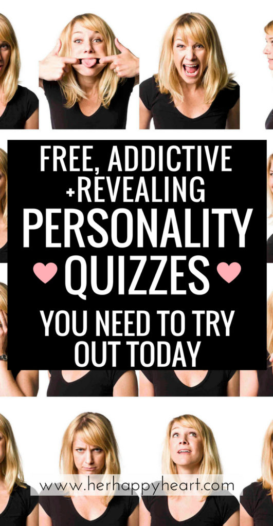 Think You Know Yourself? Try These (Free) Revealing Personality Tests... The results may surprise you! | Personality quizzes that will help pull you from an identity crisis! | #identity #personalityquiz #identity crisis