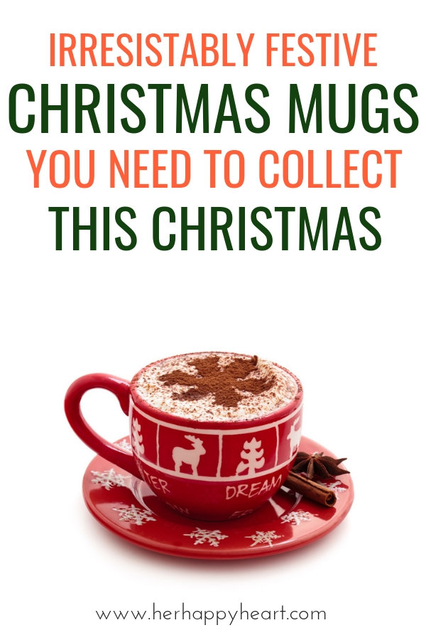 Festive Collectible Christmas Mugs | last minute Christmas gifts | Christmas gift ideas for women, friends, kids, parents and sisters | Christmas morning ideas and traditions | gift guide 2018 #giftguide #christmascoffeemug #christmasgifts