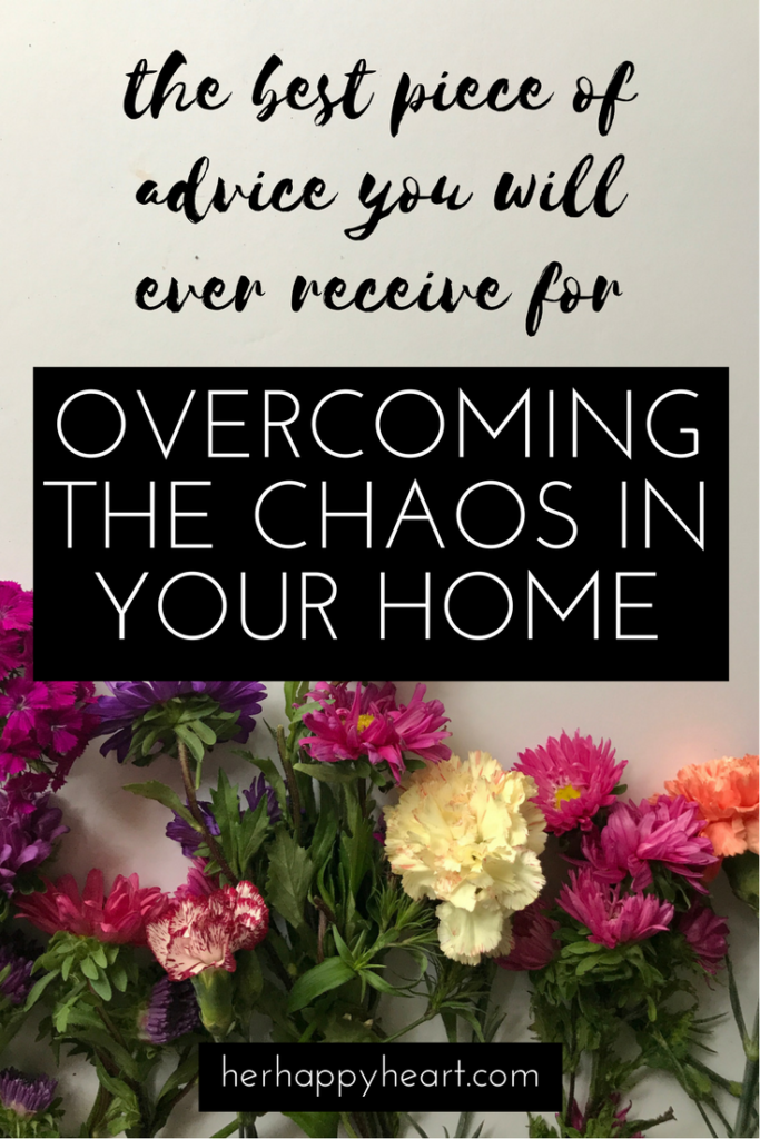The Power of a Small Change in the Midst of Chaos | Feeling overwhelmed by the chaos? I was - but one small change was all it took to help bring back my sanity. Read my post to learn more.