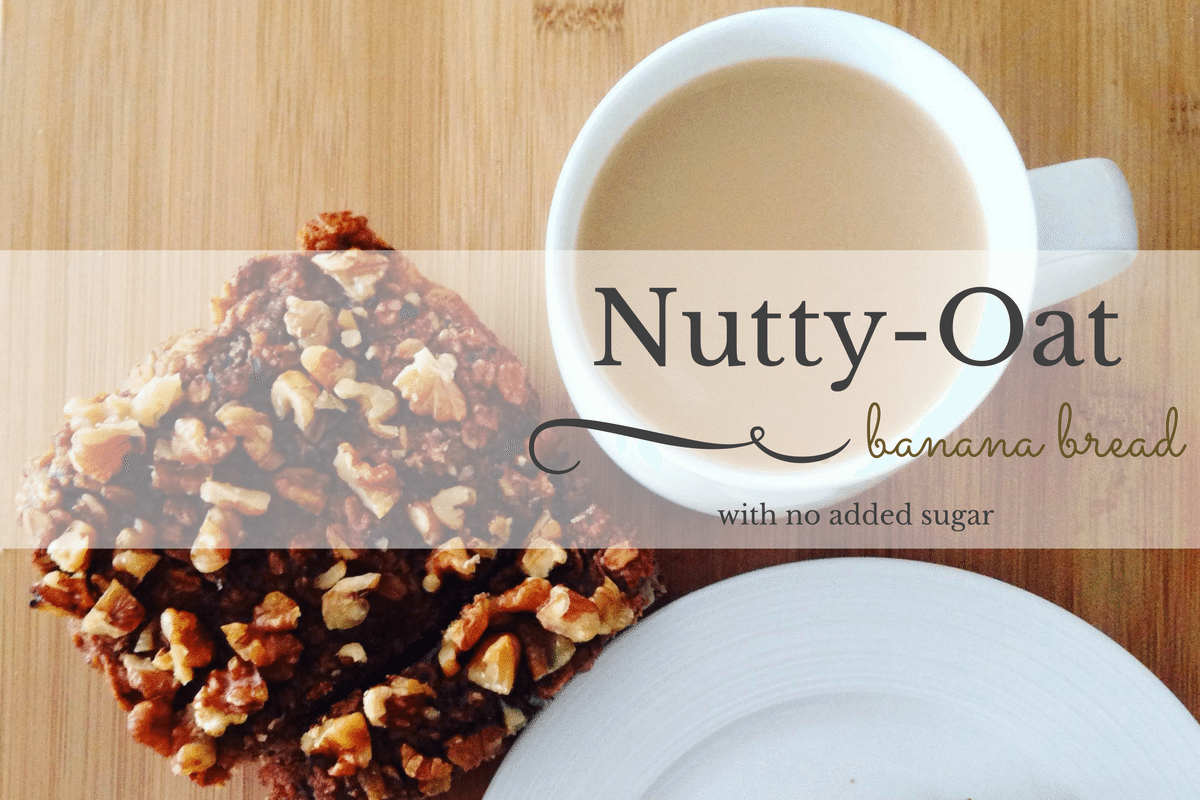 A Classic Re-imagined: Nutty-Oat Banana Bread