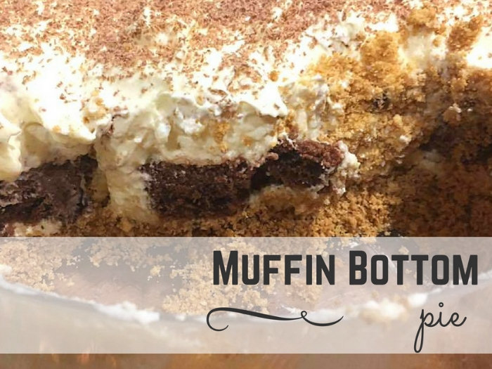 Muffin bottom pie recipe