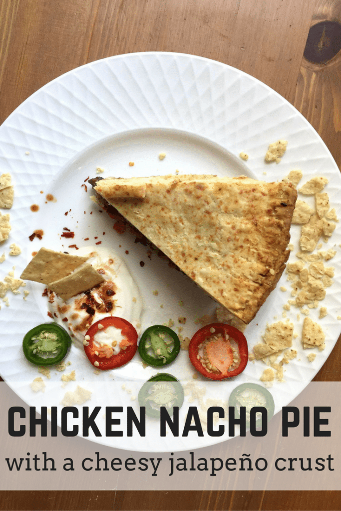 Chicken Nacho Pie with Cheesy Jalapeno Shortcrust | This chicken pie recipe is a bit different but a real treat that the whole family will love!