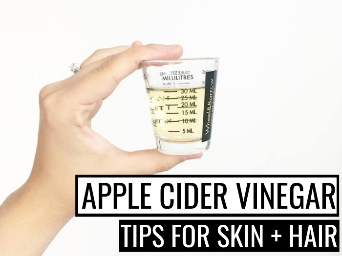 Apple cider vinegar for hair and face