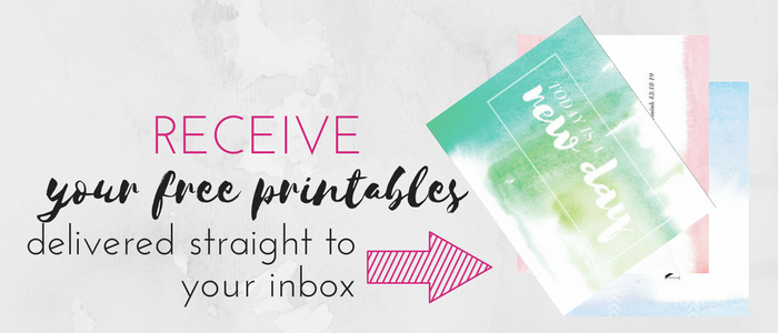 Free Printables to Inspire Your New Year