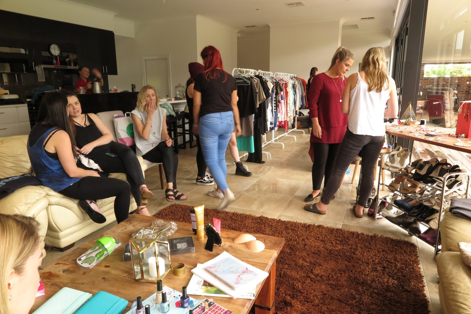 How to Host a Clothes Swap (with Tamika Lee Beauty!)