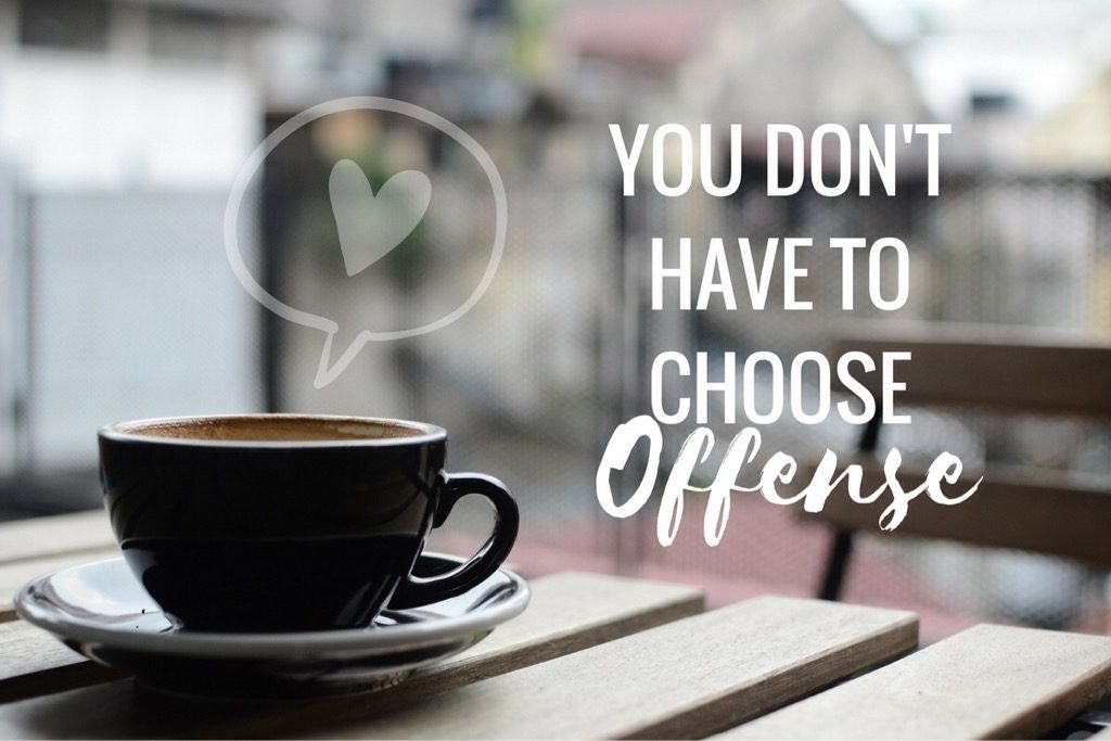 You Don't Have to Choose Offense