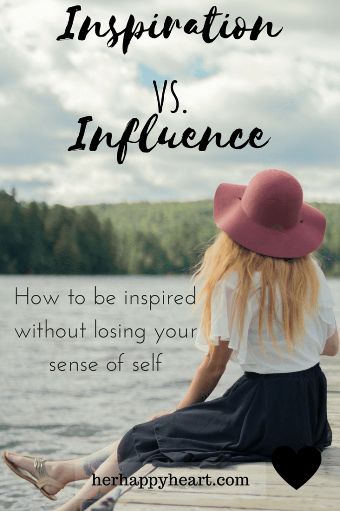 Inspiration vs. Influence | Know the difference between leading an authentic, inspired life, and leading an influenced one.