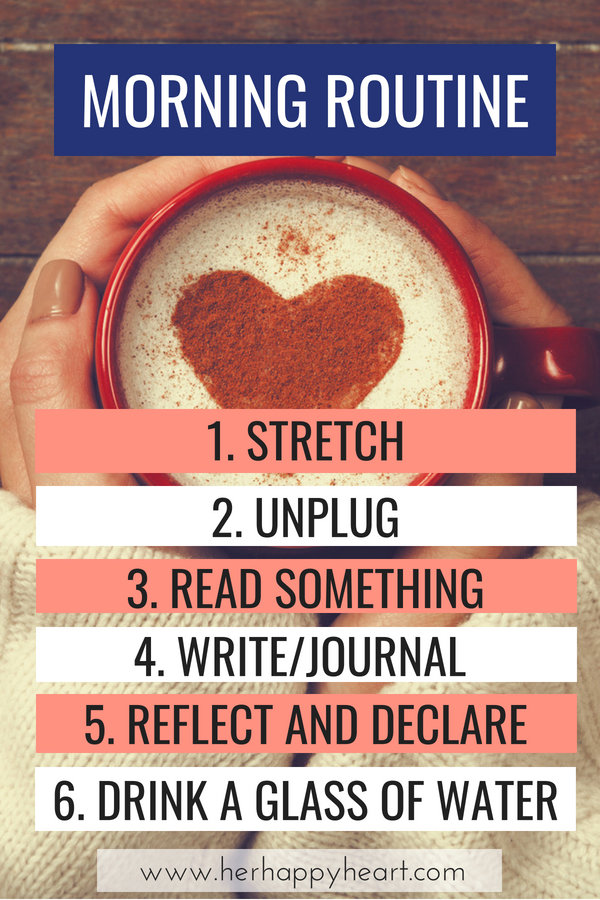 Building a Meaningful Morning Routine | Tips for how to create a morning routine that will stick | Morning routine ideas and affirmations