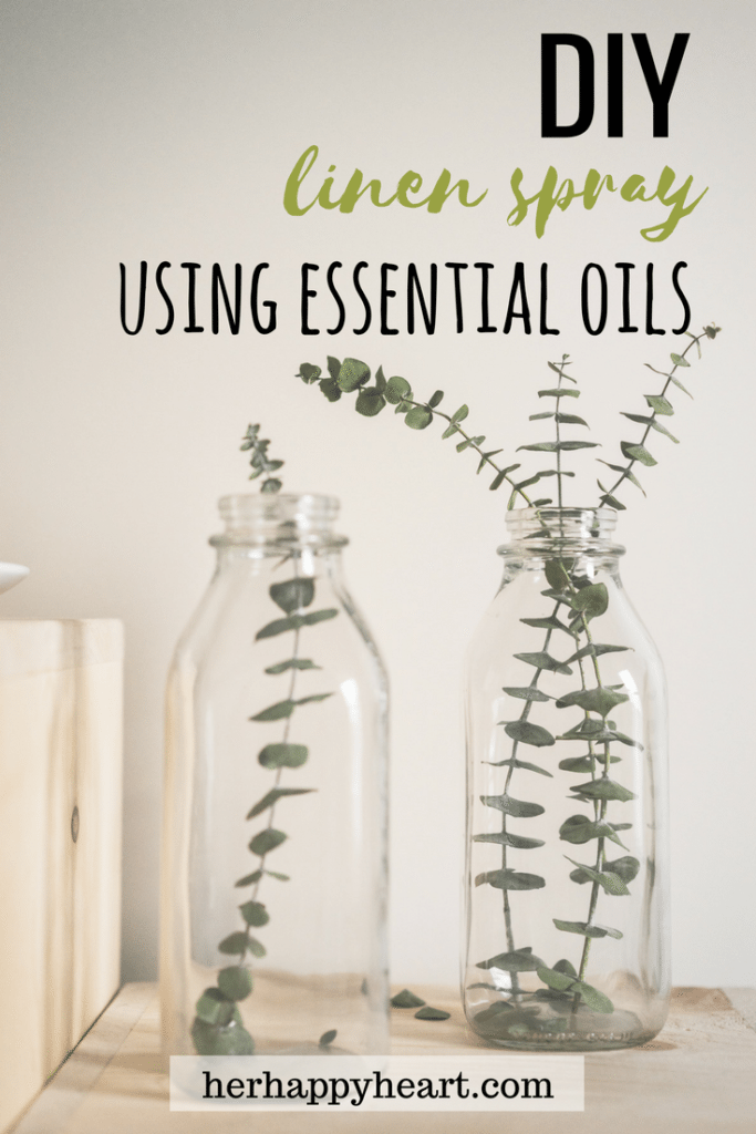 DIY Linen Spray | Use your favourite essential oils to make this quick, easy DIY!