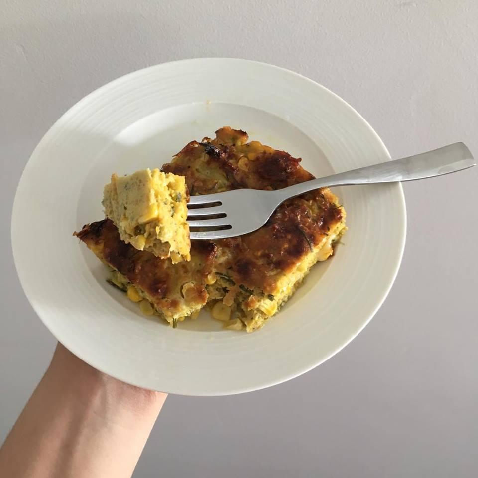 Gluten Free Sweet Potato & Rosemary Slice Recipe