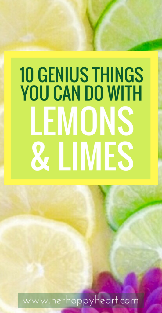 What To Do When You Have Too Many Lemons & Limes | Citrus coming out the wazoo? Here's our top 10 favourite ways of using lemon and lime - with recipes, health remedies, storage ideas and more! #lemon #lime #citrus | lemon uses health | lemon desserts | citrus | lime recipes