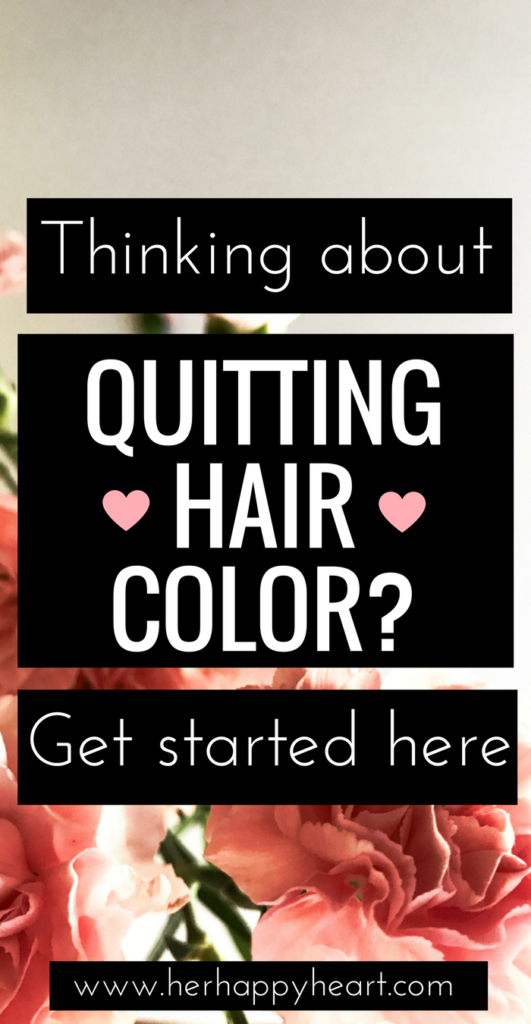 For the Love of All-Natural Locks: Why I Quit Hair Colouring | How and why I gave up hair dye... and whether or not the regrowth was worth the effort! Hair care | Hair tips | Beautiful hair | Beauty tips