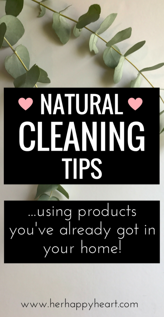 Cleaning Naturally (using products you already own!) | Natural cleaning products, chemical free cleaning, cleaning with essential oils | Spring cleaning | Cleaning tips | Home making | Cleaning hacks | Essential oils for beginners