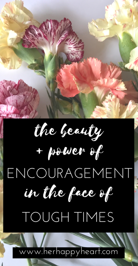 The Beauty and Power of Encouragement | How to deal with tough times | How friends can help each other pull through.