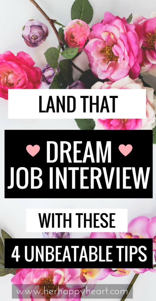 Top Tips for Landing a Job Interview | Make sure your job application shoots to the top of the pile with these unbeatable tips! Stand out from the crowd and score that dream job interview! | Dream job inspiration