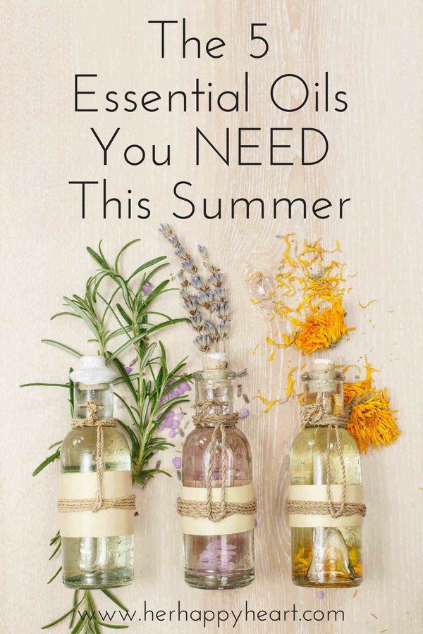 5 Essential Oils You NEED This Summer | Summer healthy | Holistic Health | Essential oils for beginners | Essential Oil blends | Young Living | Summer vibes