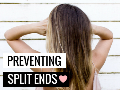Preventing Split Ends - 7 Tricks To Try