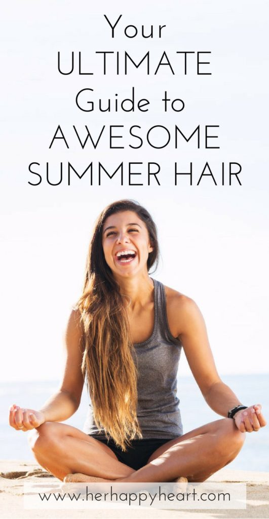 Healthy Summer Hair: 7 Essential Tips You MUST Add To Your Summer Hair Care Routine | Summer hair care tips, products and DIY remedies | #summer #haircare #diybeauty