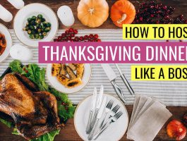 Thanksgiving dinner hosting tips