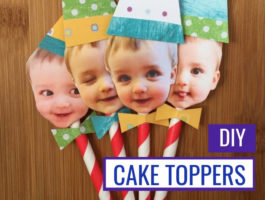 """Crazy Easy DIY Cake Toppers That Will Make Your Guests Go """"Awww!"""""""