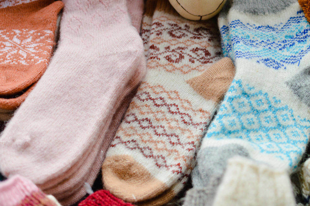 Hygge wool socks