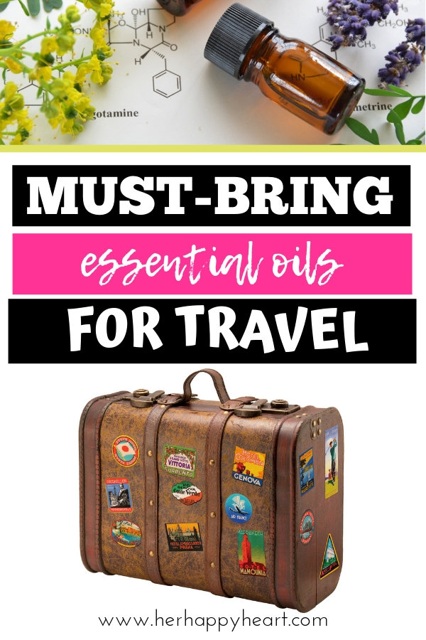 Essential oils for traveling | Using and packing essential oils for trips abroad |  essential oil travel cases | vacation tips for health, immunity, sleep and skin care
