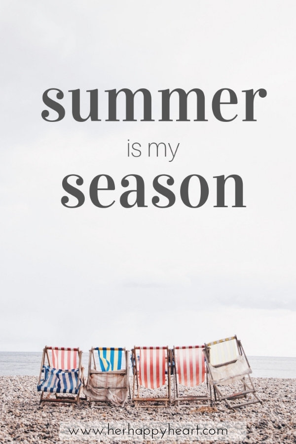 Summer is my season | Free Printable for Summer | Summer quotes | Summer aesthetic and vibes | First day of Summertime