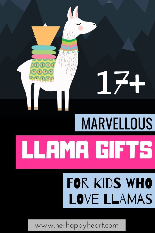 Llama gifts for kids and llama lovers | Llama Christmas gifts and llama stocking stuffers | Llama birthday presents for kids | Fun quirky llama gifts for boys, girls and teens | Christmas gift guide | Unique quirky fun Christmas gift ideas for kids