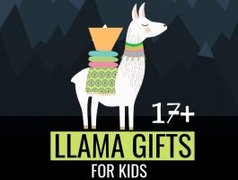 17 Marvellous Llama Gifts For Kids Who Love Llamas
