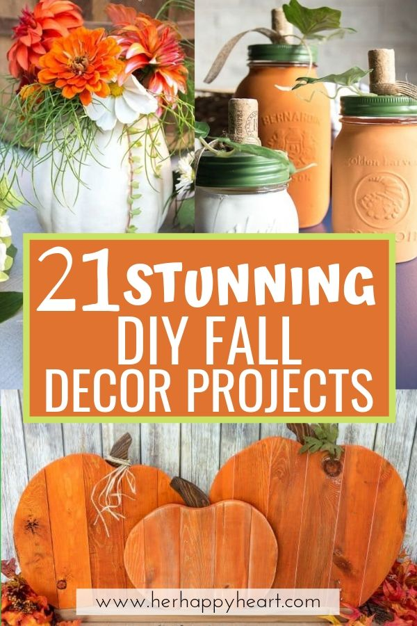 21 Beautiful DIY Fall Decor Projects And Crafts (That Suit