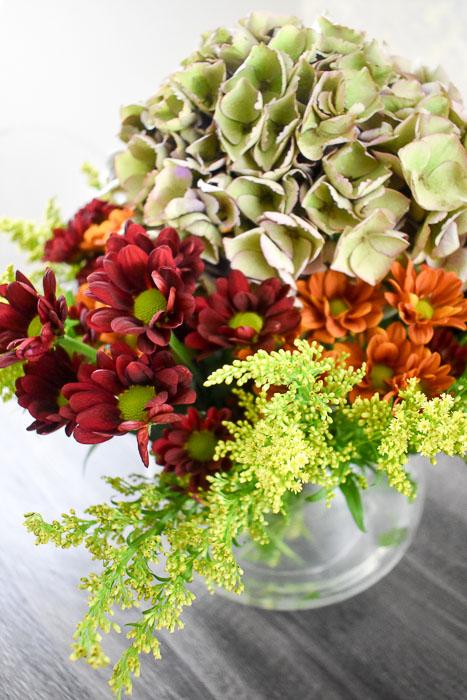 Stunning Fall Flower Arrangement