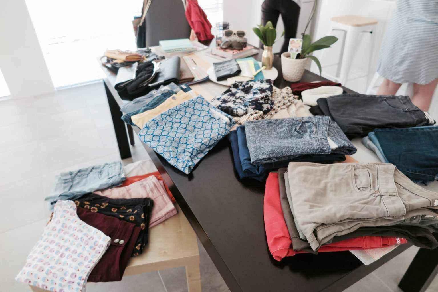 How to host a clothes swap